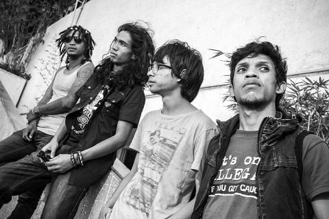The Dizzy Brains, groupe de rock malgache aux TransMusicales de Rennes