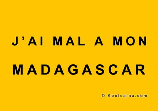 Indépendance 1960 : « J'ai mal à mon Madagascar » dixit Kool Saina