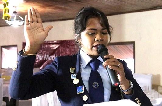 Une femme malgache nommée Présidente du Lions Club