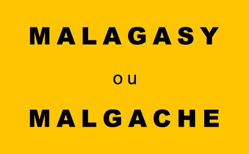 Malagasy ou Malgache ? Donnez votre avis !