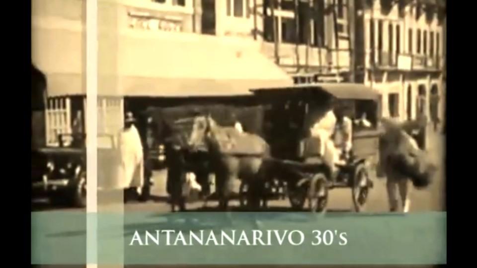 Une incroyable vidéo d'Antananarivo dans les années 30