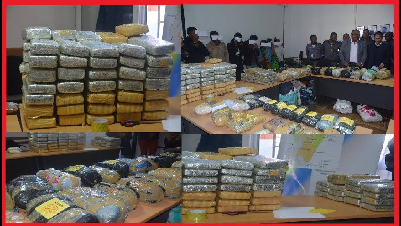 VIDEO. Trois Mauriciens surpris avec 140 kilos de drogue à Madagascar
