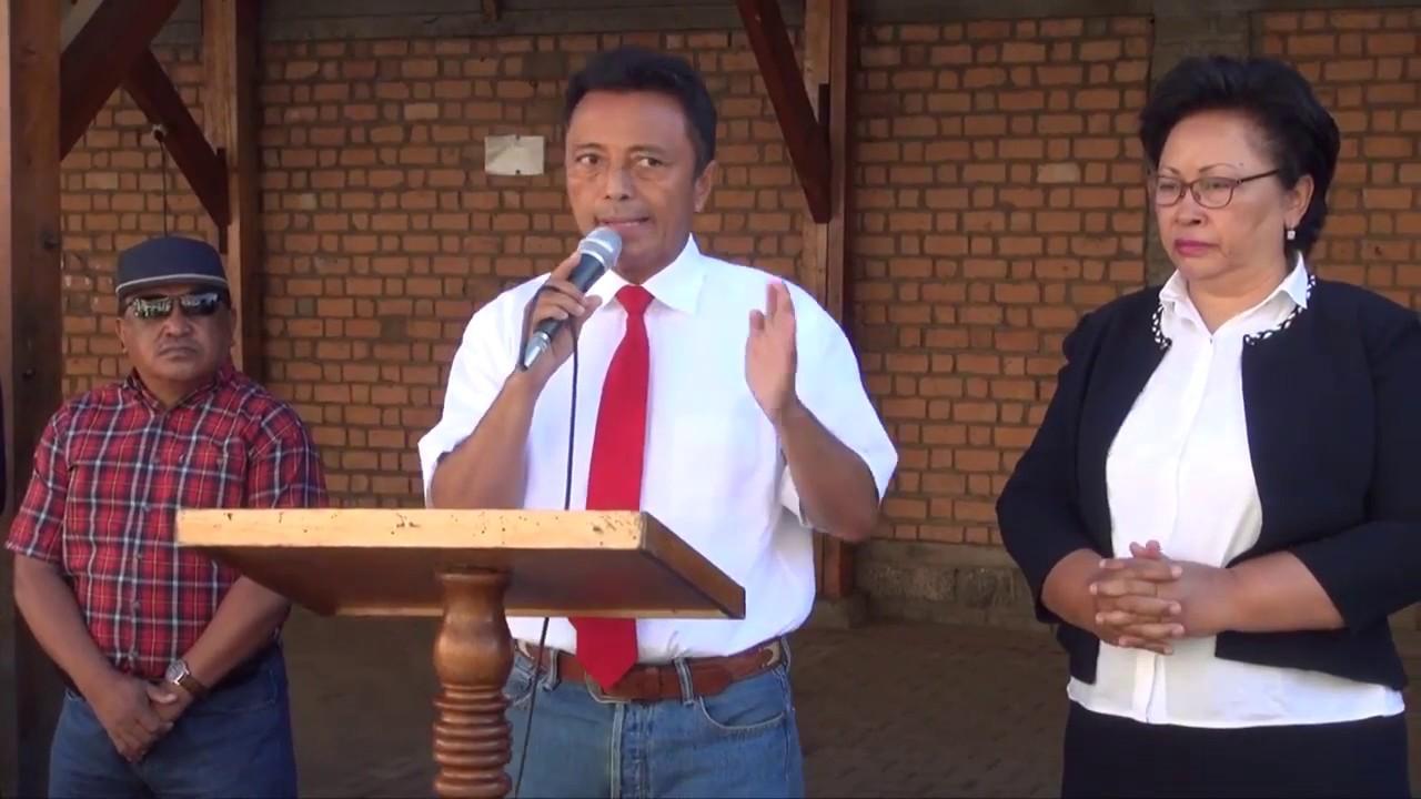 VIDEO. Ravalomanana propose des solutions pour les ordures d'Antananarivo