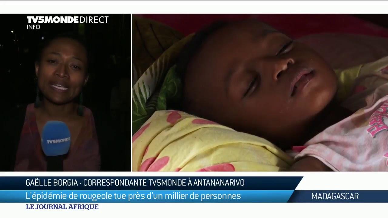 VIDEO. L'épidémie de rougeole à Madagascar fait un millier de victimes