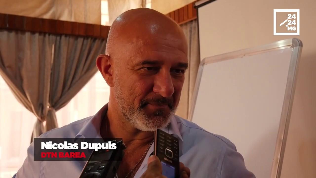 VIDEO. Nicolas Dupuis prépare les Barea pour la qualification à la CAN 2021