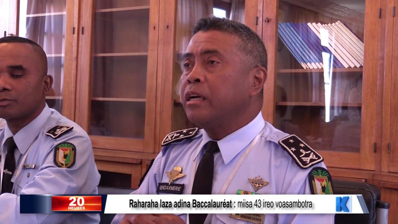 VIDEO. Un point sur les arrestations suite à la fuite des sujets du Baccalauréat