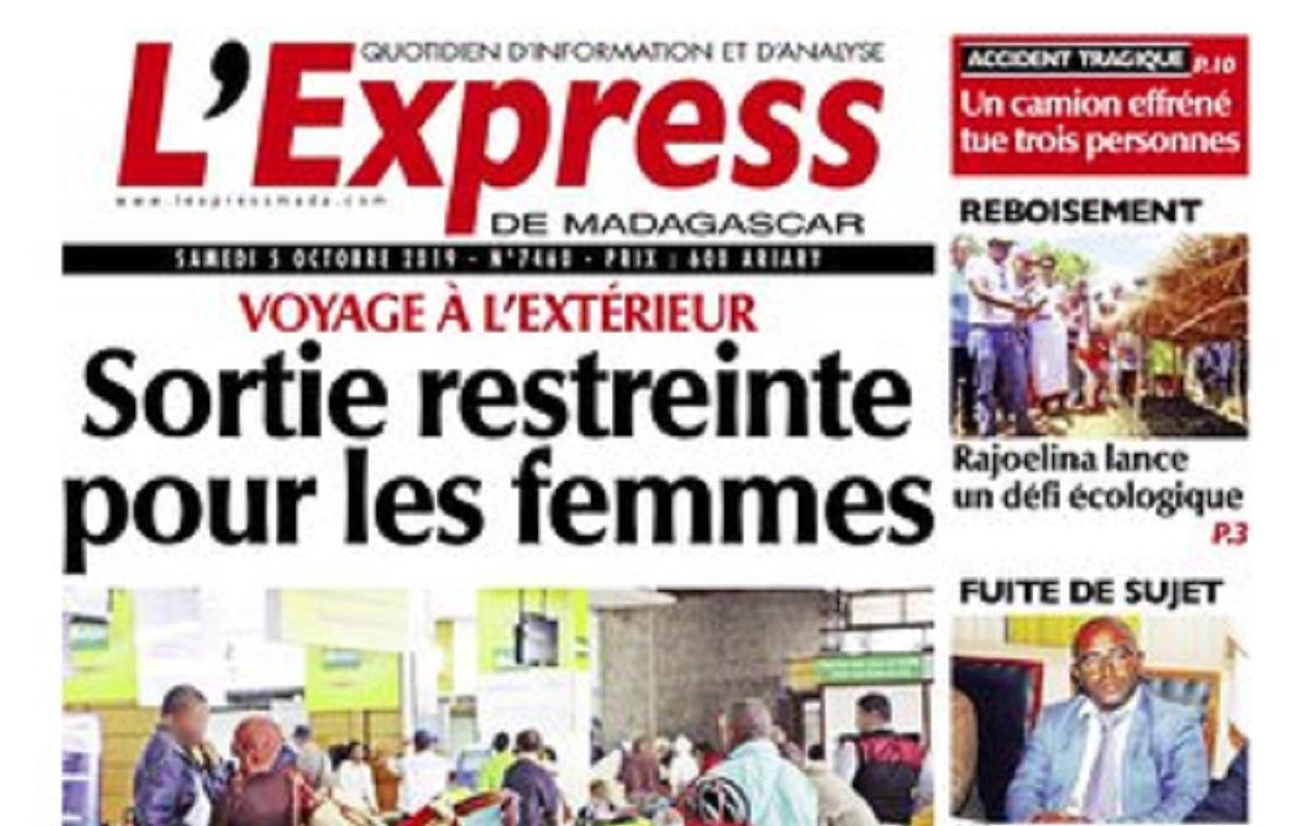 L'Express de Madagascar dément avoir désinformé et affirme avoir vérifié l'information