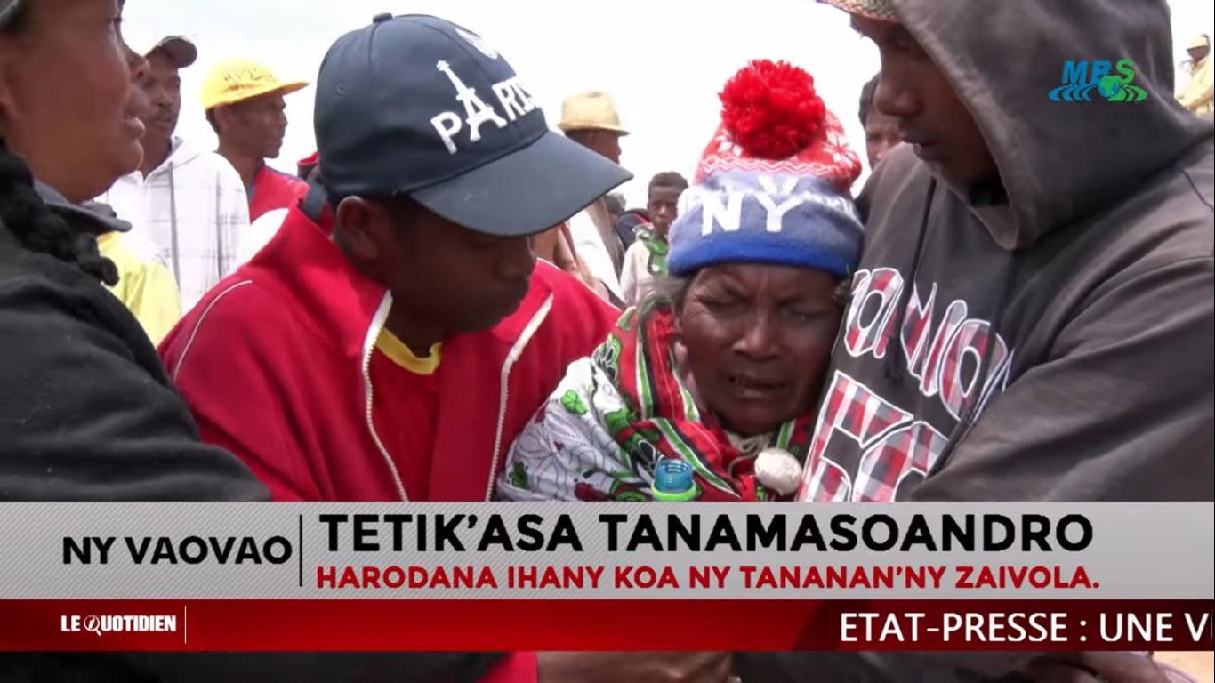 VIDEO. Les habitants d'Ambohitrimanjaka prêts à verser leur sang pour préserver leurs terres