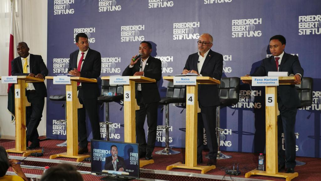 VIDEO. Voici le débat télévisé entre les 5 candidats à la mairie d'Antananarivo