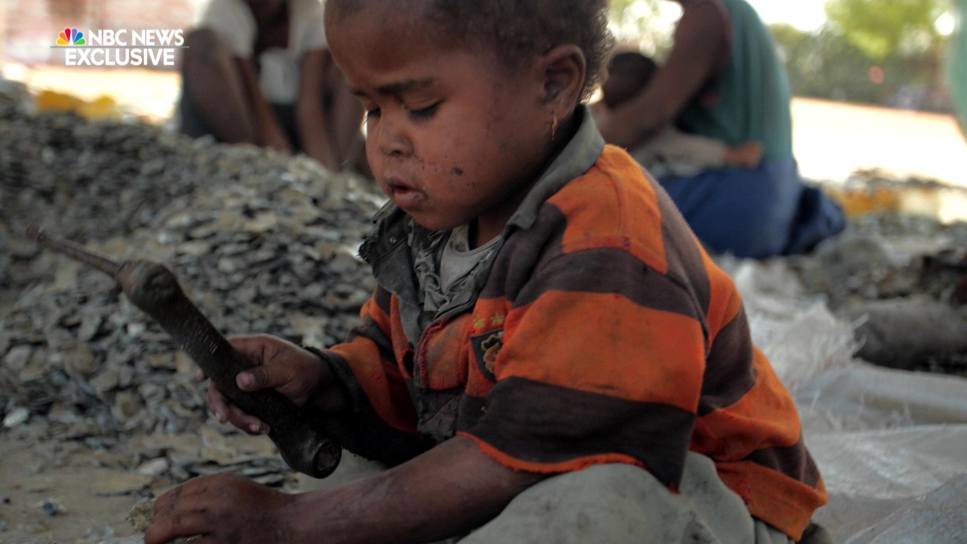VIDEO. Selon NBC, plus de 10000 enfants malgaches travaillent dans les mines