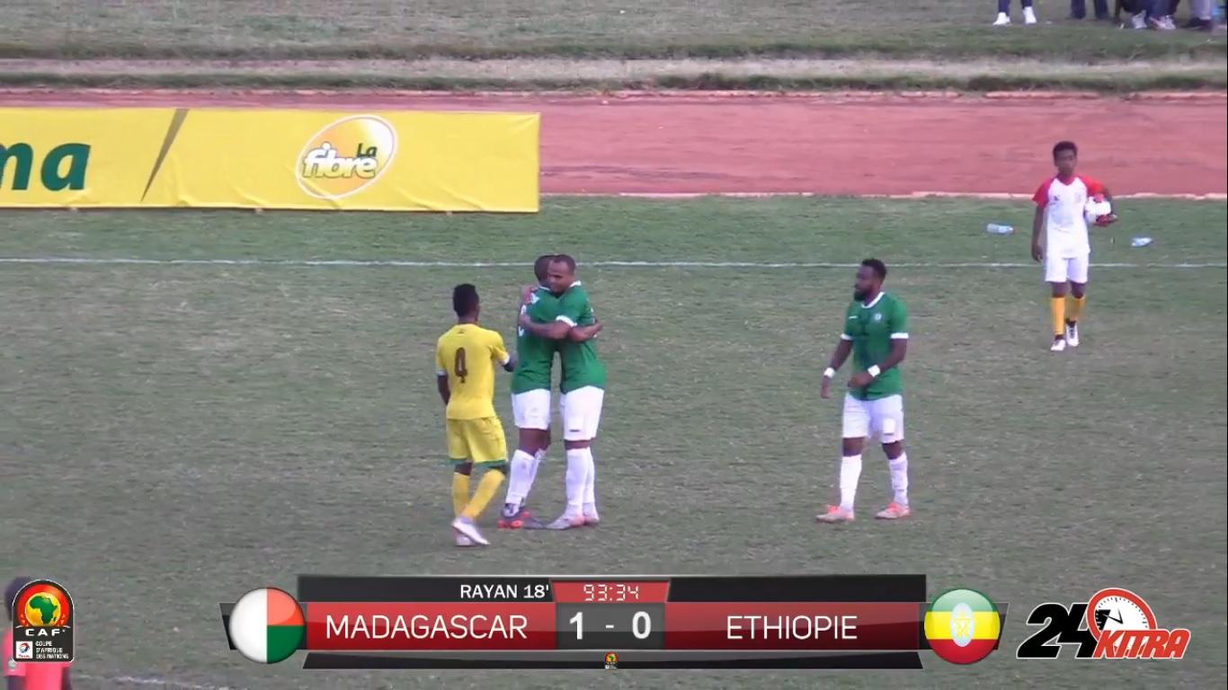 VIDEO. Voici le match intégral Madagascar vs Ethiopie pour la CAN 2021