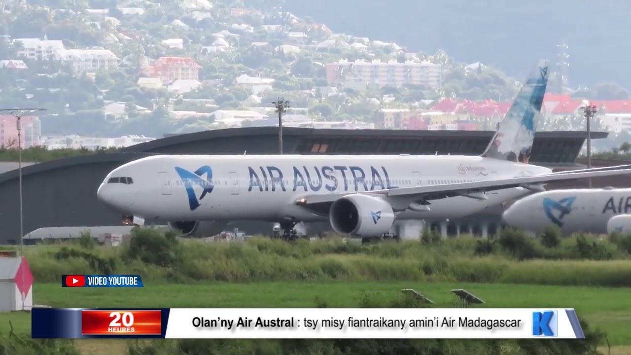 VIDEO. Les locaux d'Air Austral placés sous scellés pour une enquête