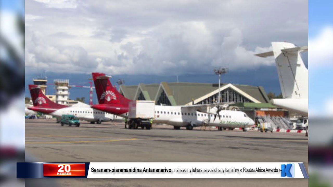 VIDEO. L'aéroport d'Antananarivo reçoit le prix «Routes Africa Awards 2019»