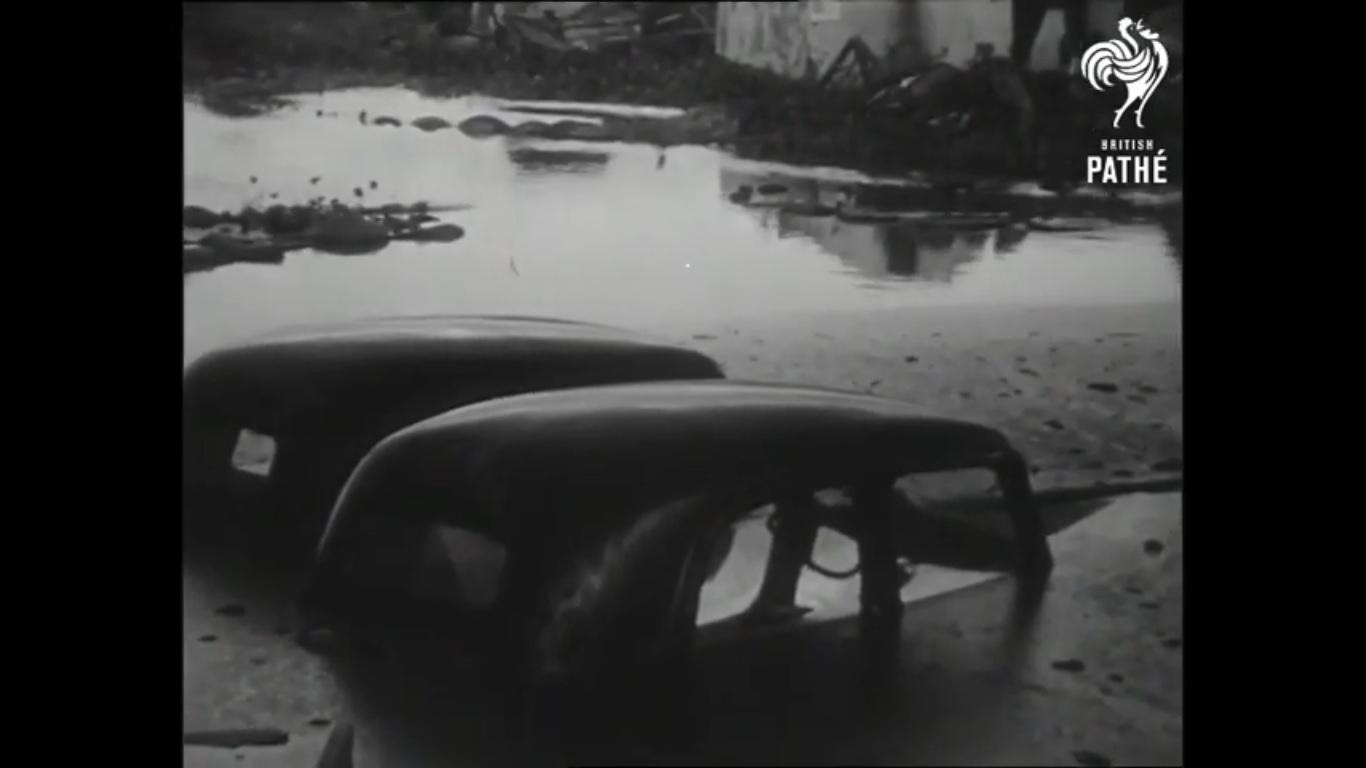 VIDEO. Une vidéo des inondations à Antananarivo en 1959 par British Pathé