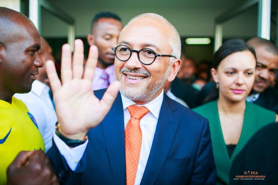 VIDEO. Naina Andriantsitohaina est devenu le nouveau maire d'Antananarivo