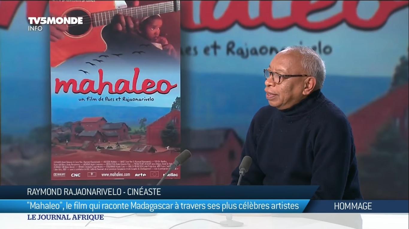 VIDEO. Une interview de Raymond Rajaonarivelo, réalisateur du film Mahaleo