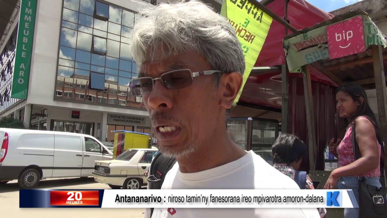 VIDEO. Le nouveau maire d'Antananarivo tente d'instaurer la discipline