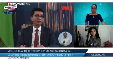 VIDEO. «Le Covid Organics n'est pas sur la liste des recommandations du ministère de la Santé», dixit TV5