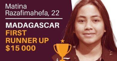 VIDEO. Une Malgache gagne 15000 dollars au concours Anzisha Prize