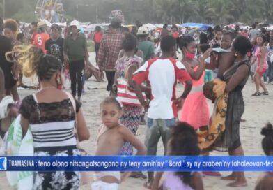 VIDEO. Les plages et les discothèques prises d'assaut hier à Toamasina