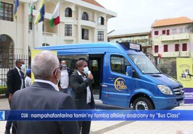 VIDEO. De nouveaux véhicules pour le réseau de bus à Antananarivo