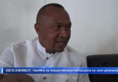 VIDEO. Le député qui défend le nouveau code de la nationalité accuse Ravalomanana